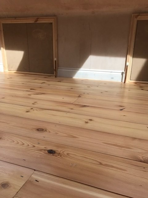 Antique Pine Floorboards