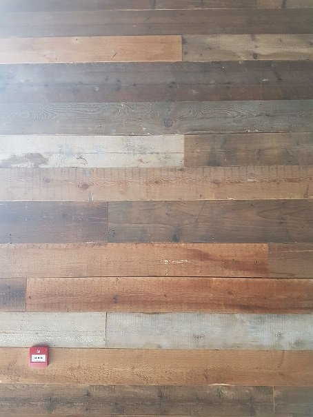 Reclaimed Wall Cladding Boards