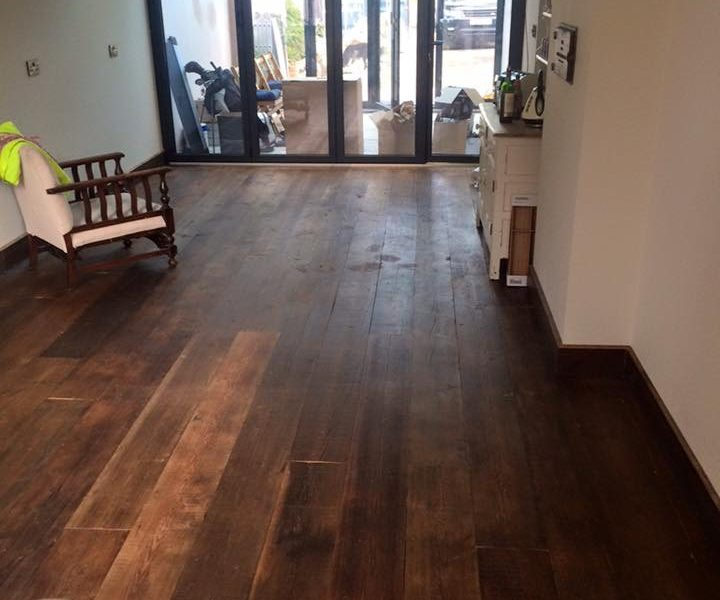 Rustic Floorboards - Waxed & Buffed