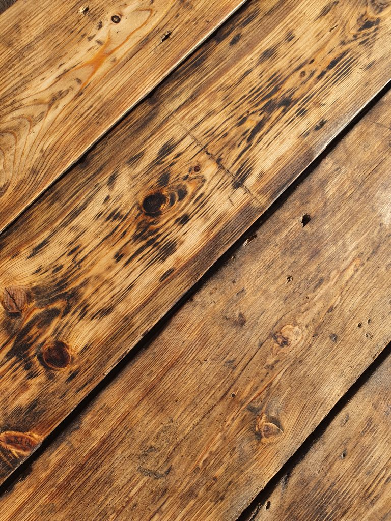 reclaimed Victorian Original Floorboards