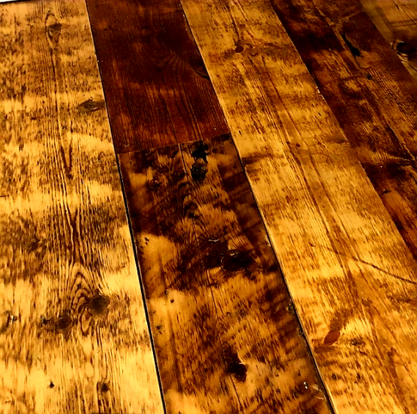 reclaimed Rustic Flooring - Oiled & Sealed